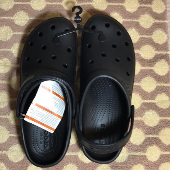 fd9db2e6c6f222 Crocs Men s Unisex Coast Clog Black